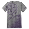 Disney ADULT Shirt - Epcot 35th Anniversary - Grey and Purple