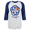 Disney Men's Shirt - Epcot 35th Anniversary - World Showcase Raglan