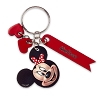 Disney Personalizable Leather Keychain - Minnie Mouse Face