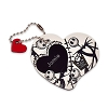 Disney Personalizable Leather Bag Tag - Jack Skellington - Heart