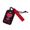 Disney Personalizable Leather Bag Tag - Pirates - My Heart