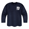 Disney Girls Shirt - Disney World Spirit Jersey - Navy