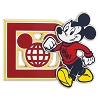 Disney Mickey Pin - Collegiate Mickey Mouse