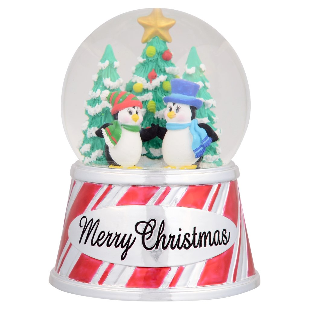 seaworld snow globe merry christmas cute penguins - Merry Christmas Cute