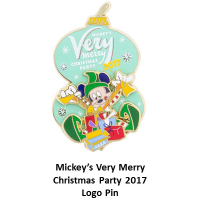 AUTHENTIC Disney Store Limited Mickey Christmas 2017 Pin