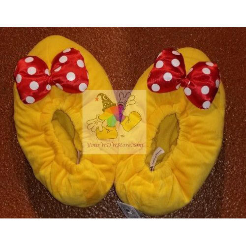 e492515d2e3b Add to My Lists. Disney Slippers - Plush Minnie Mouse Shoes