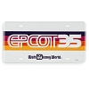 Disney License Plate - Epcot 35th Anniversary Logo Plate