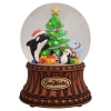 SeaWorld Musical Snow Globe - Christmas Tree - Cute Sea Life