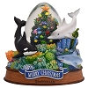 SeaWorld Snow Globe - Christmas Tree with Fish and Sea Life