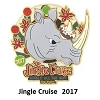 Disney Jingle Cruise Pin - 2017 Jingle Cruise - Jungle All the Way