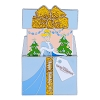 Disney Resort Holidays Pin 2017 - Grand Floridian Cinderella