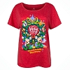 Disney Ladies Shirt - Mickey's Very Merry Christmas Party 2017 - Red