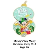 Disney Very Merry Christmas Party Pin - Santa Mickey Logo 2017