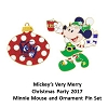 Disney Very Merry Christmas Party Pin Set - 2017 Minnie Mouse