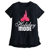 Disney Ladies Shirt - Holiday Mode Ice Castle Tee