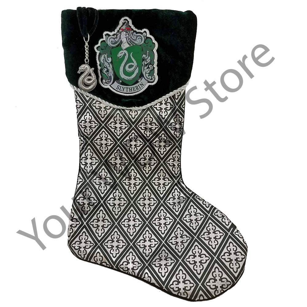 universal stocking harry potter slytherin crest