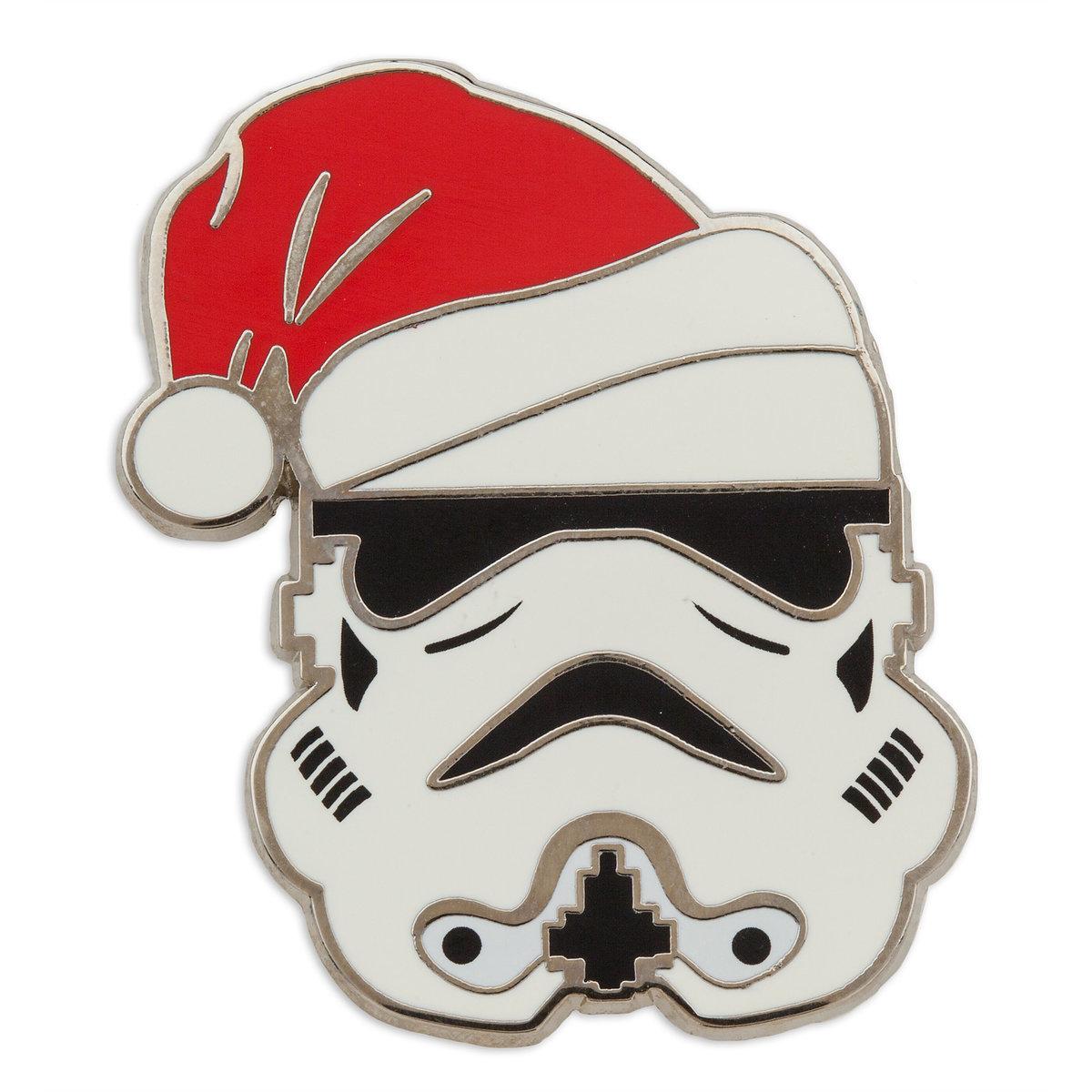 Disney Holiday Pin - Star Wars - Stormtrooper in Santa Hat