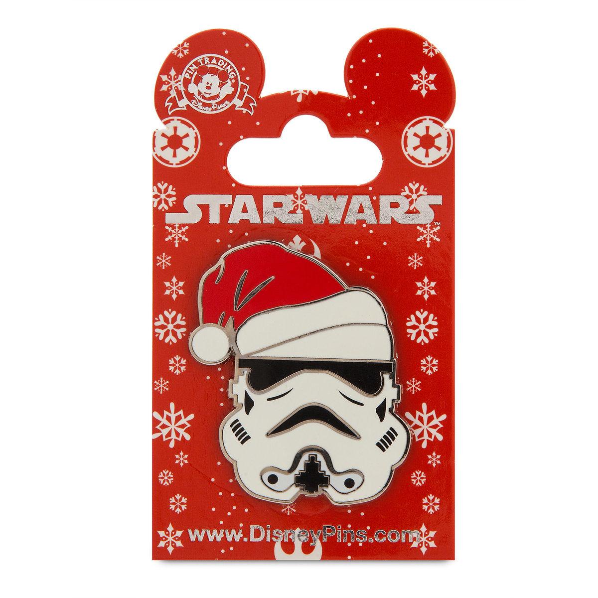 6cf76d22a1607 Disney Holiday Pin - Star Wars - Stormtrooper in Santa Hat