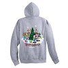 Disney Adult Jacket - 2017 Happy Holidays Mickey and Friends Hoodie
