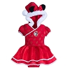 Disney Baby Holiday Dress - Mickey and Minnie Mouse - Red Bodysuit