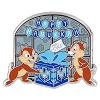 Disney Holiday Pin - Happy Hanukkah - Chip n Dale