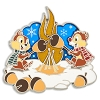 Disney Holiday Pin - Chip 'n Dale Roasting Acorns