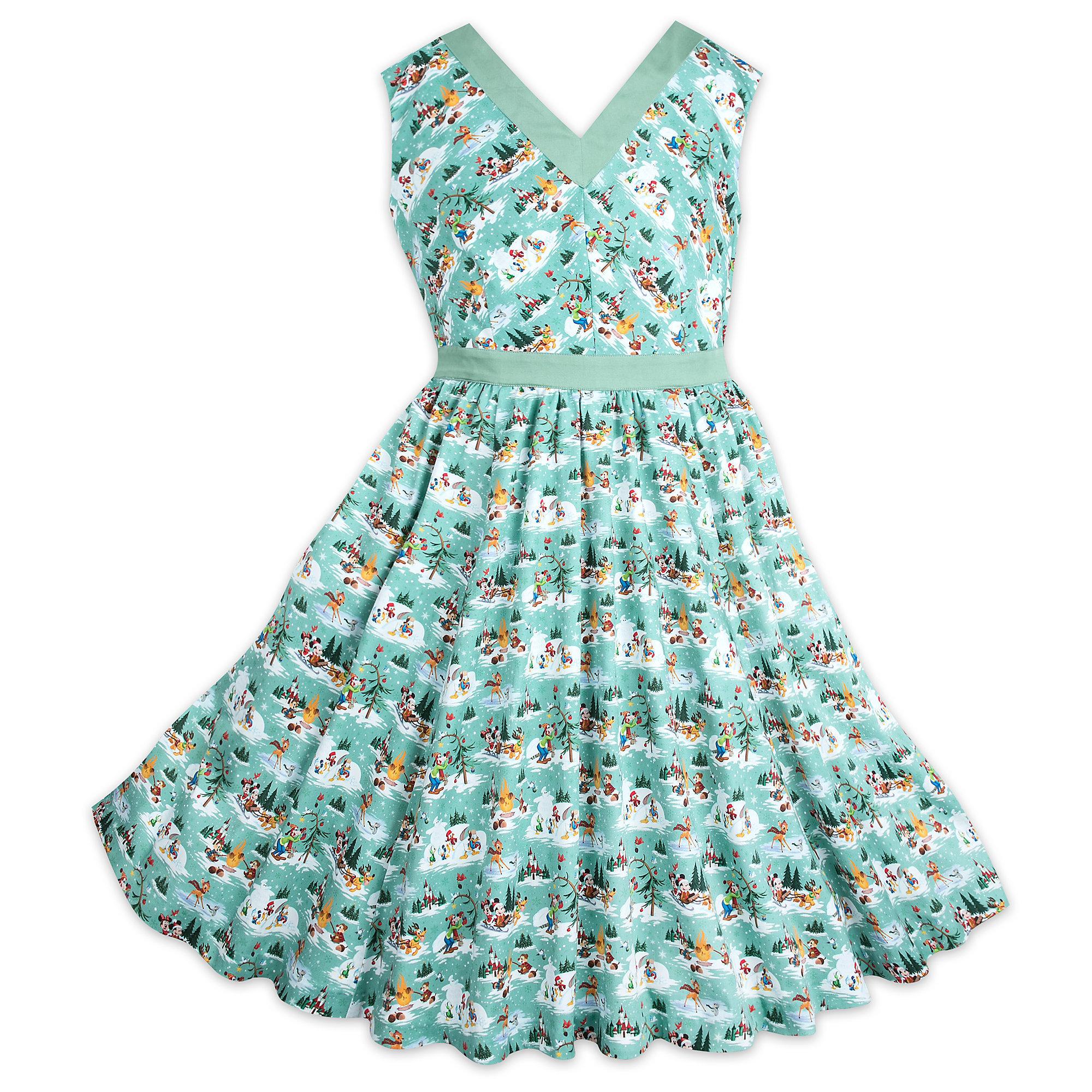 Your WDW Store - Disney Ladies Dress - Christmas Winter Wonderland ...