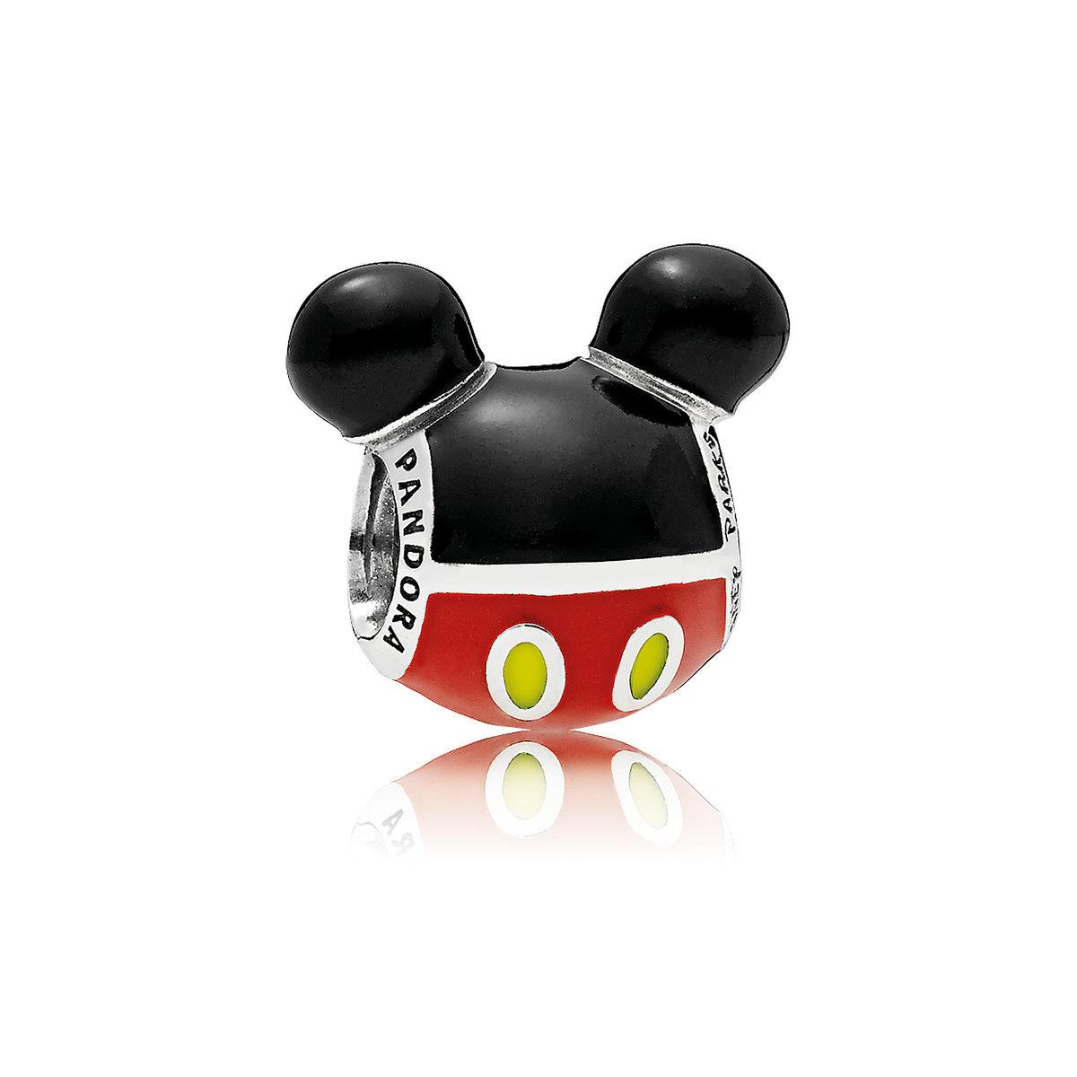 Disney Pandora Charm Mickey Mouse Silhouette Icon