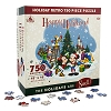 Disney Puzzle - Santa Mickey Mouse and Friends Happy Holidays Retro Jigsaw Puzzle