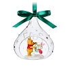 Disney Sketchbook Ornament - Winnie the Pooh & Piglet Glass Drop 2017