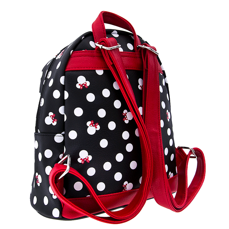 2831d275bb6 Disney Mini Backpack - Minnie Mouse Bows and Polka Dots