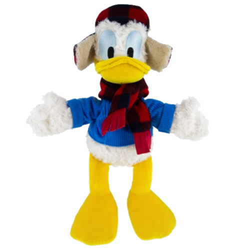 disney christmas plush winter wishes donald duck - Donald Duck Christmas