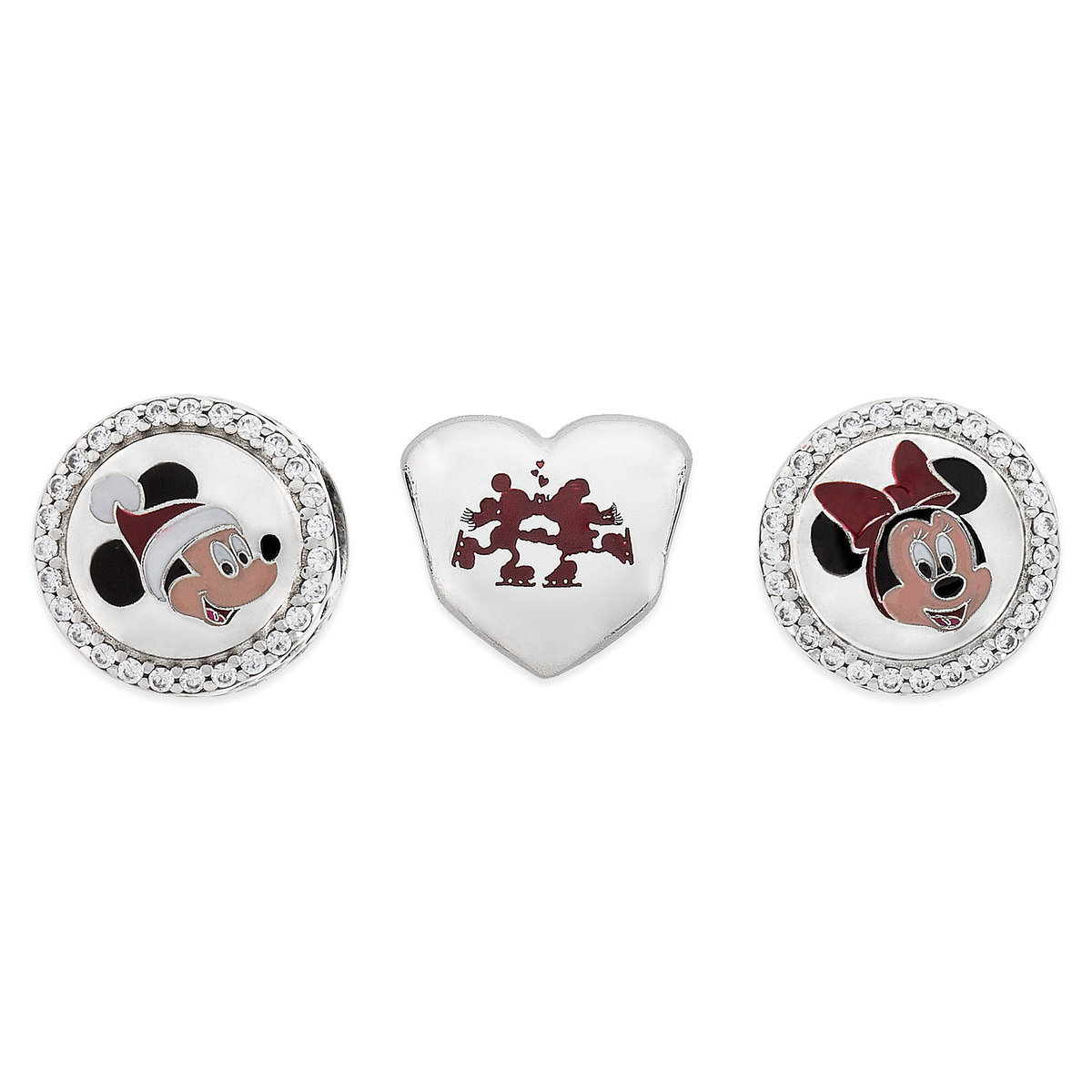 charm pandora mickey minnie