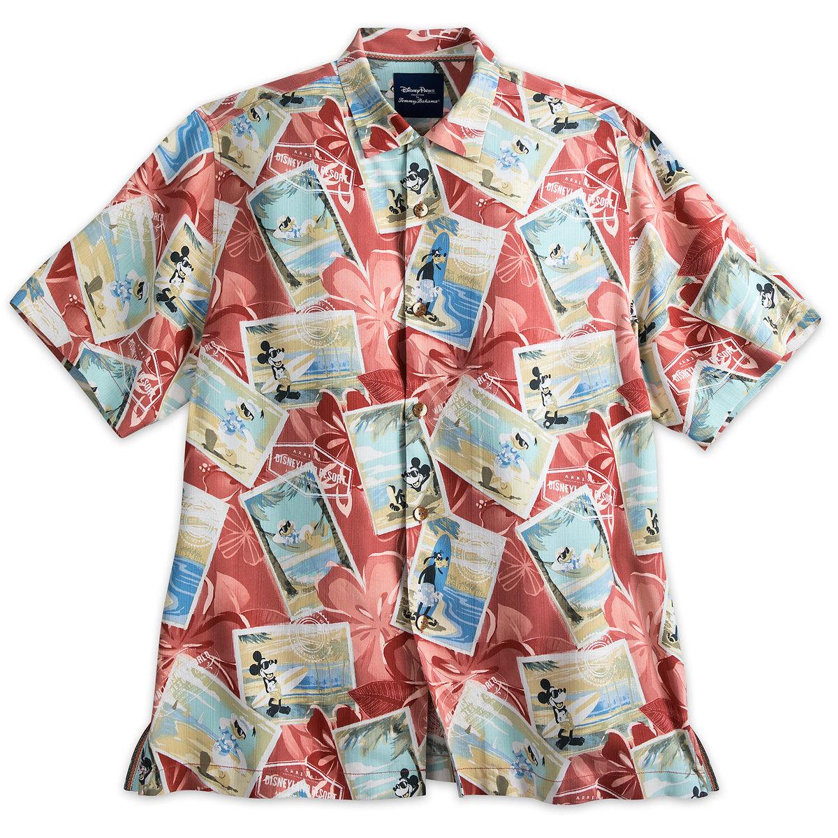 Disney Tommy Bahama Silk Shirt