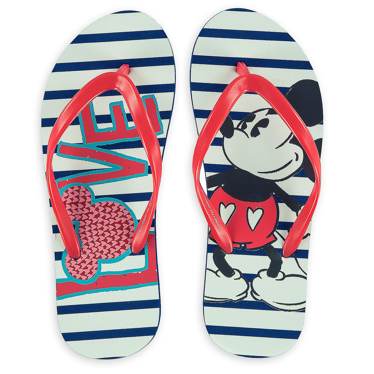 7102c046c06 Add to My Lists. Disney Adult Flip Flops - Mickey Mouse Love