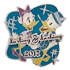 Disney Dapper Pin - Darling and Dashing - Daisy and Donald Duck