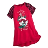 Disney GIRLS Nightgown - Mickey and Minnie Mouse Holiday
