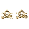 Disney Rebecca Hook Earrings - Cinderella Carriage - Gold