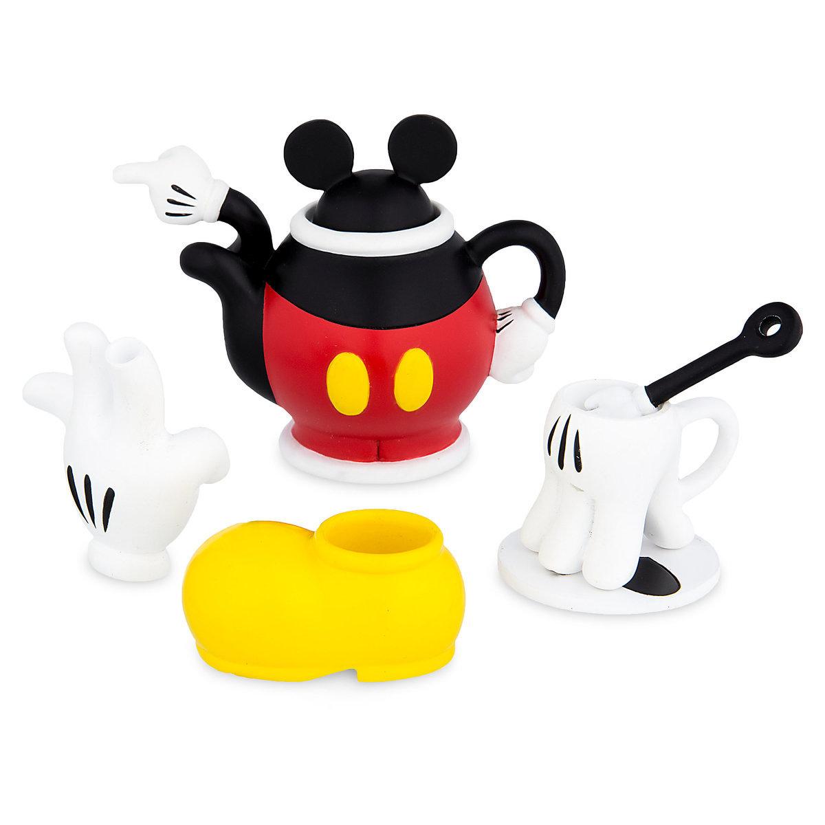 Disney Decorative Mini Tea Set Mickey And Minnie Mouse