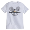 Disney Child Shirt - Mickey Mouse Disney World Globe - White