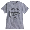 Disney Child Shirt - Disney World Pennant - Grey