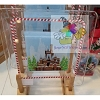 Disney Glass Plate - 2017 Contemporary Resort Gingerbread Castle