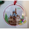 Disney Disc Ornament - 2017 Contemporary Resort Gingerbread Castle