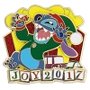 Disney Holiday Pin - 2017 Stitch - Joy 2017