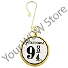 Universal Ornament - Harry Potter - Platform 9 3/4 Metal Disc