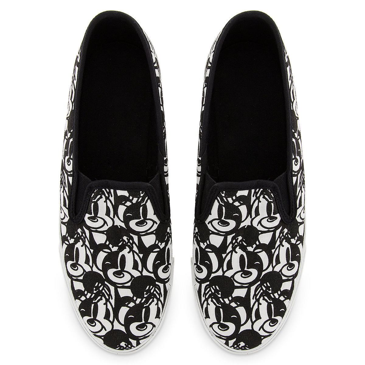 Mickey Mouse Canvas Slip-On