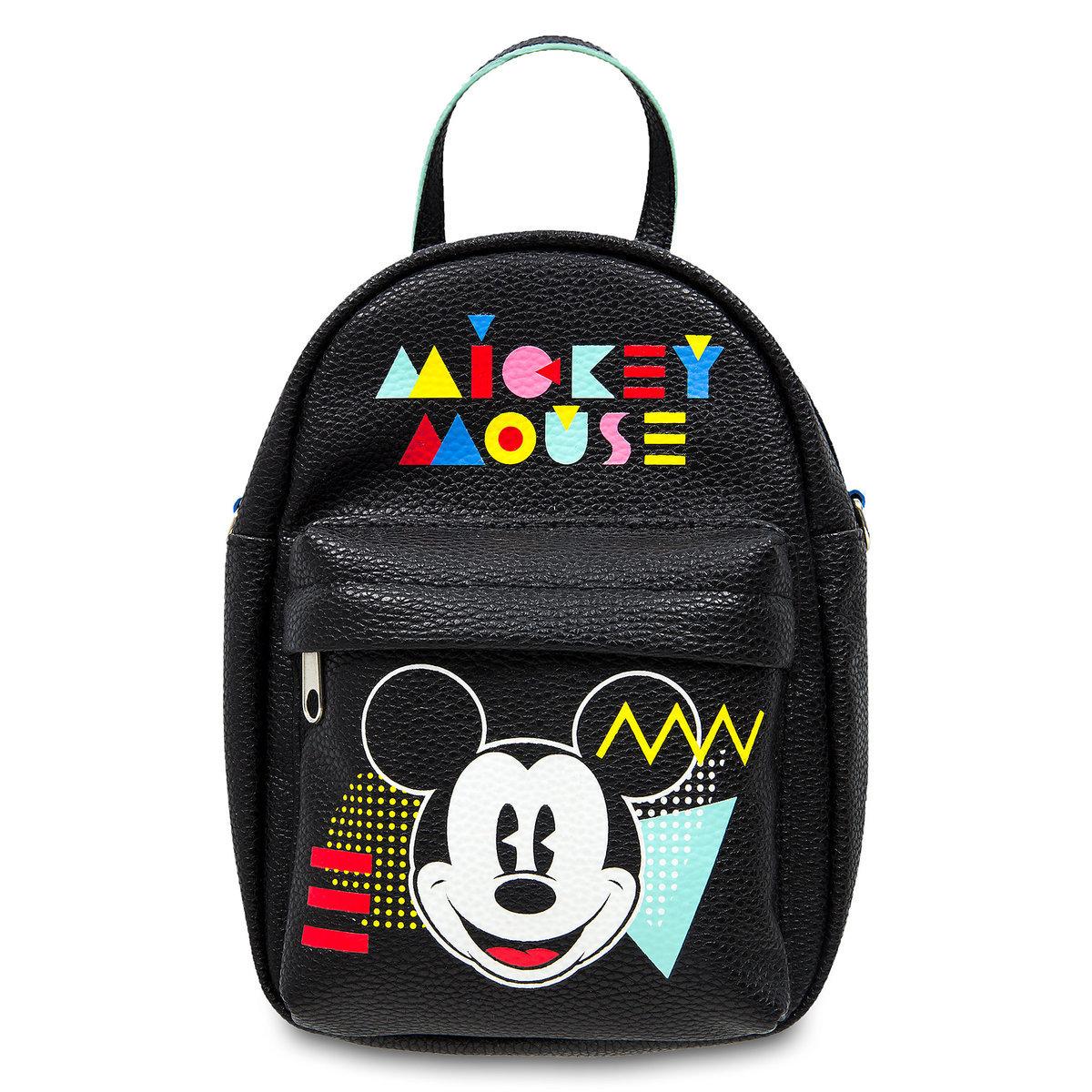 ebbdb56e6be Disney Backpack Bag - Flashback Mickey Neon