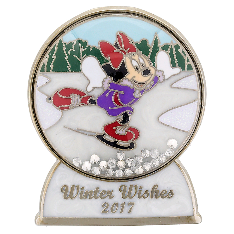 Disney Winter Pin - 2017 Winter Wishes - Minnie