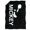 Disney Throw Blanket - Mickey Mouse - Black and White