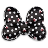 Disney Throw Pillow - Minnie Mouse Bow - Black